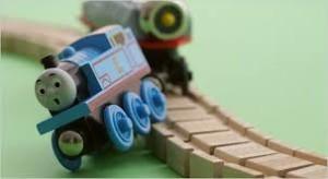 train wrecked